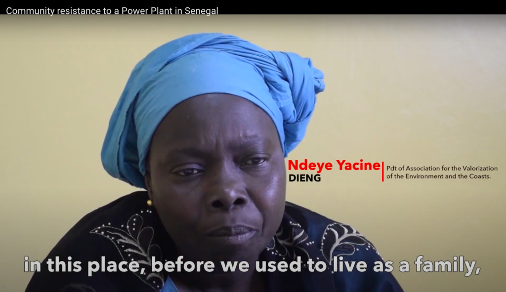 Community resistance to a Power Plant in Senegal