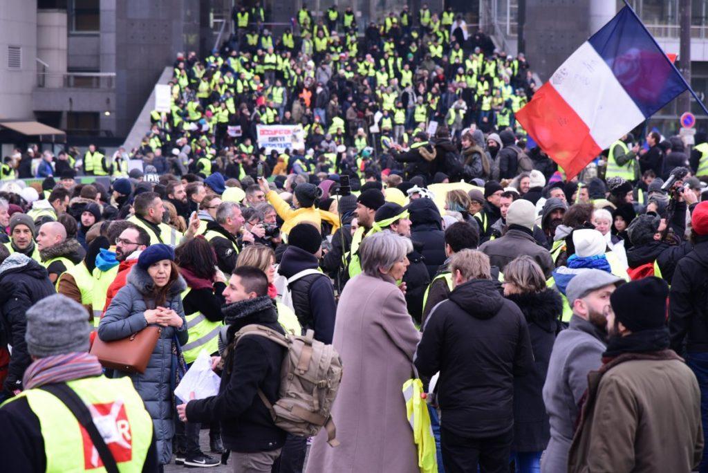 What mark have the Yellow Vests left on French democracy?
